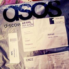 An ASOS Package At: http://www.pinterest.com/pin/45176802482196171/ (Accessed on 01.01.15)