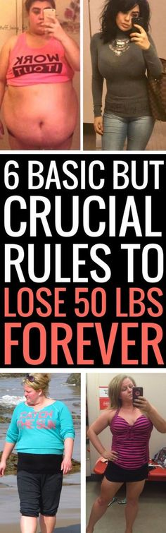 6 weight loss tricks that will help you shed 50 pounds for good.