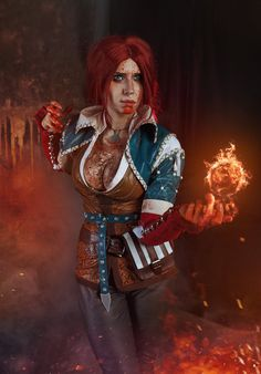 Triss Merigold Cosplay by elenasamko on DeviantArt