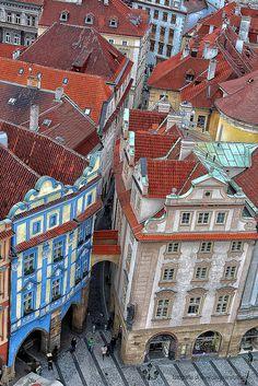 Praga 2013. Giro per le strade della Capitale della Repubblica ceca.