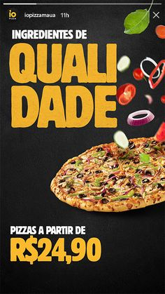 Social Media - Gerenciamento de Mídias Sociais Food Poster Design, Creative Poster Design, Food Design, Visual Advertising, Creative Advertising, Graphic Design Inspiration, Food Inspiration, Restaurant Poster, Pizza Art