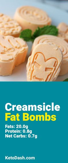 Classic creamsicle flavor with enough fat to match your diet. The perfect fat bomb.