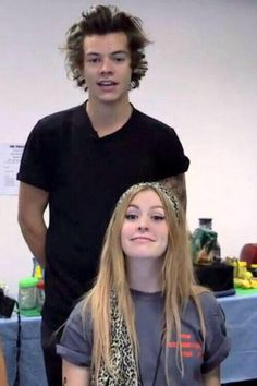 Gemma and that guy...Henry?? Idk #gemmaisthebetterstyles<<<< I laughed way too much about this