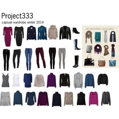 Project 333 winter