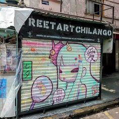 """Obra de @shinji_takemi para @streetart_chilango #Mexico #mural #streetmuralmx"""