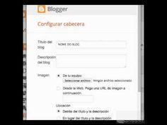 Cambia o título do teu blog