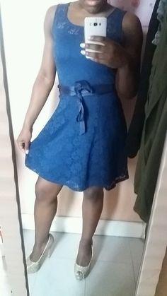 Robe Bleue Marine Morgan Morgan, Style, Dresses, Fashion, Navy Blue Gown, Dress Blues, Fashion Ideas, Swag, Vestidos