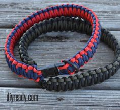 dog Collar with Paracord | 25 Paracord Projects, Knots & Ideas