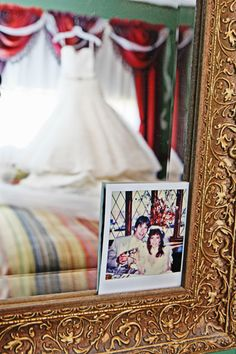 Make your wedding unforgettable by adding in sweet mementos from your parents' wedding   Zenobia Studios