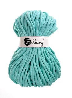9mm mint cotton cord 108 yards 100 meters by Bobbiny on Etsy