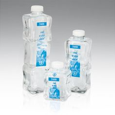 Fromin Water. Unusual shape of these bottles encourages me to drink from them :)
