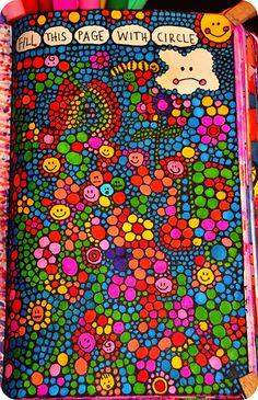 WTJ Fill this page with CIRCLES by eklektick, via Flickr