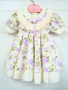 Vintage Toddler Clothes Toddler Girl Dress by OnceUponADaizy, $18.00 This is one of the most beautiful dresses.