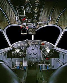 Grumman G-21 Goose Cockpit