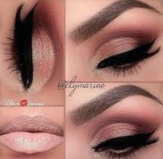 Gorgeous Makeup, Pretty Makeup, Love Makeup, Makeup Inspo, Makeup Inspiration, Makeup Ideas, Simple Makeup, Makeup Tutorials, Natural Makeup