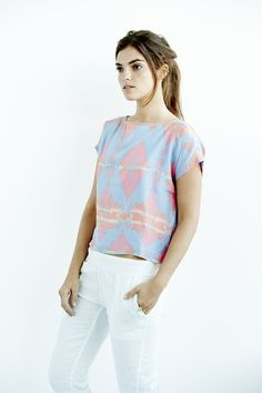 The perfect summer top - Kiawanda Silk Top from Faherty Brand