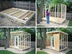 David needed to replace his rotted out farmhouse shed and wanted to go for a more modern look