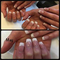 Nail art french gel BlacstarNails ProNail