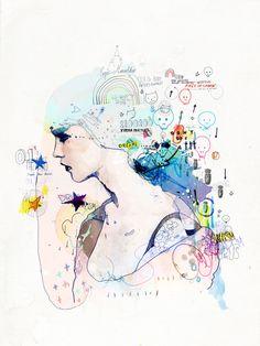 http://mydeadpony.tumblr.com/post/36598607006/personal-work-escapism-101