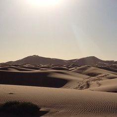 Le dune al mattino