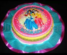 "Torta decorada von fondant ""Princesas Disney"""