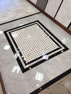 AZT Bianco venatino manhattan cordoba mosaic