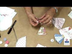 Anjo de tecido - Enfeite de Natal - YouTube