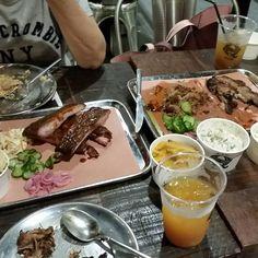 Brisket ribs and pulled pork Brisket, Pulled Pork, Ribs, Pudding, Desserts, Food, Shredded Pork, Tailgate Desserts, Deserts