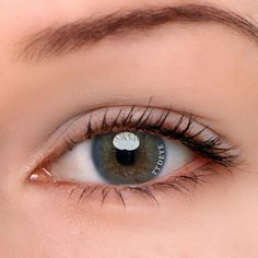 """14mm Ocean Green Round """"Real Eyes"""" Made In USA"""