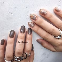 Pin on Nails Pin on Nails Hot Nails, Nude Nails, Nail Manicure, Hair And Nails, Stylish Nails, Trendy Nails, Colorful Nail Art, Almond Nails Designs, Fall Nail Art Designs
