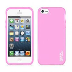 Liquid for iPhone 5 - Solid Pink