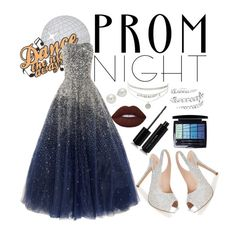 """Midnight Prom Dance"" by duckgirlabi on Polyvore featuring Marc Jacobs, Lauren Lorraine, Christian Dior and AK Anne Klein"