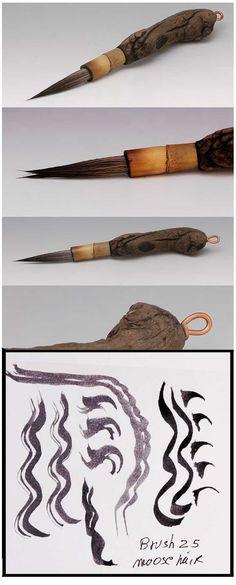 Handmade Brush by Ron Mello