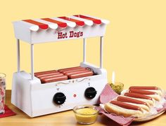 Vintage Collection Hot Dog Roller  http://www.lovedesigncreate.com/nostalgia-electrics-hdr-565-vintage-collection-hot-dog-roller/