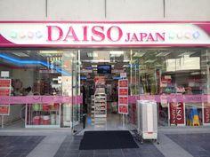"Tempat Favorit belanja barang-barang khas Jepang ""DAISO Japan"""