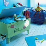 coffre à jouets décoré