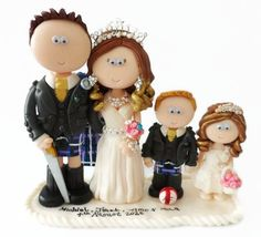 New wedding planning apps cake toppers ideas Scottish Wedding Cakes, Indian Wedding Cakes, Unique Wedding Cakes, Trendy Wedding, Unique Weddings, Personalized Wedding Cake Toppers, Handmade Wedding Invitations, Wedding Food Stations, Wedding Topper