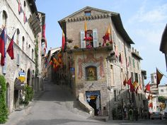 Asissi, Italy..beautiful hilltop town. I got the best bread in the world up that hill!