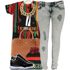 A fashion look from July 2014 featuring Criminal Damage jeans, Tory Burch bags and Monet necklaces. Browse and shop related looks.