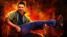 """The """"Leg Guitar"""" will go down in history.  #Dean    #Supernatural"""