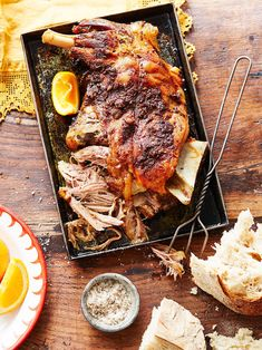 Slow-roasted lamb (Mechoui) – Had this in Morocco and it was mouth watering! Read Recipe by katbhouston Lamb Recipes, Slow Cooker Recipes, Cooking Recipes, Keto Recipes, Healthy Recipes, Slow Cooked Lamb, Lamb Dishes, Middle Eastern Recipes, Dessert
