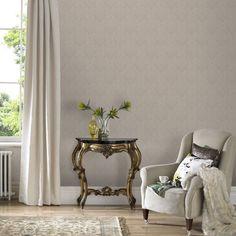 Savannah Cream Wallpaper, , large