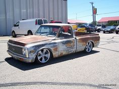 trucks chevy old Chevy C10, 67 72 Chevy Truck, Classic Chevy Trucks, Chevy Pickups, Chevrolet Trucks, Chevy Classic, Lifted Chevy, Classic Cars, Bagged Trucks