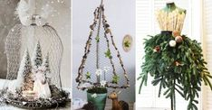 17 bilder som bevisar att hönsnät är den bästa juldekorationen | Land Land, Plant Hanger, Diy And Crafts, Christmas Tree, Seasons, Table Decorations, Holiday Decor, Advent, Home Decor