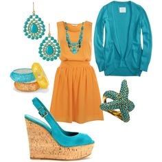 Classy Classy!  Plus it's Miami Dolphins colors;)