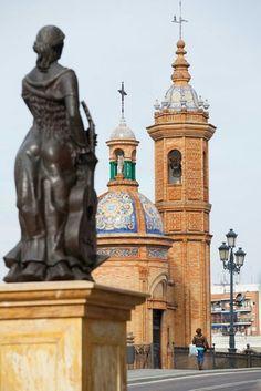 Quarter Triana in Seville, Spain
