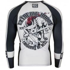 Men s Rashguard Longsleeve MMA BJJ - Extreme Hobby ™   Omerta - Streetwear   e7d35f1571d