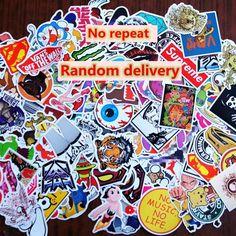15RG JDM Lot//Pack of 15 Random Green Stickers//Decals Low Turbo Drift Race