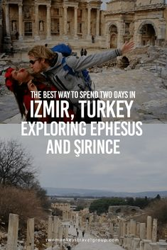 The best way to spend two days in Izmir, Turkey – Exploring Ephesus and Şirince After attending the World Tourism Forum in Istanbul for the second year in a row, this time as featured speakers, we joined a group of 8 other international travel bloggers on a two-day trip to Izmir, arranged by Blogger Casting and the Izmir Development Agency.