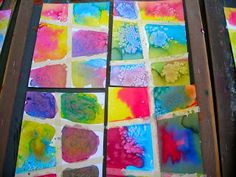Fine Lines: Kindergarten Ooos and Ahhs. Water color paper and masking tape. Kindergarten Art Lessons, Art Lessons For Kids, Art Lessons Elementary, Art For Kids, Kindergarden Art, Art Classroom, Classroom Ideas, Classroom Organisation, Classroom Inspiration